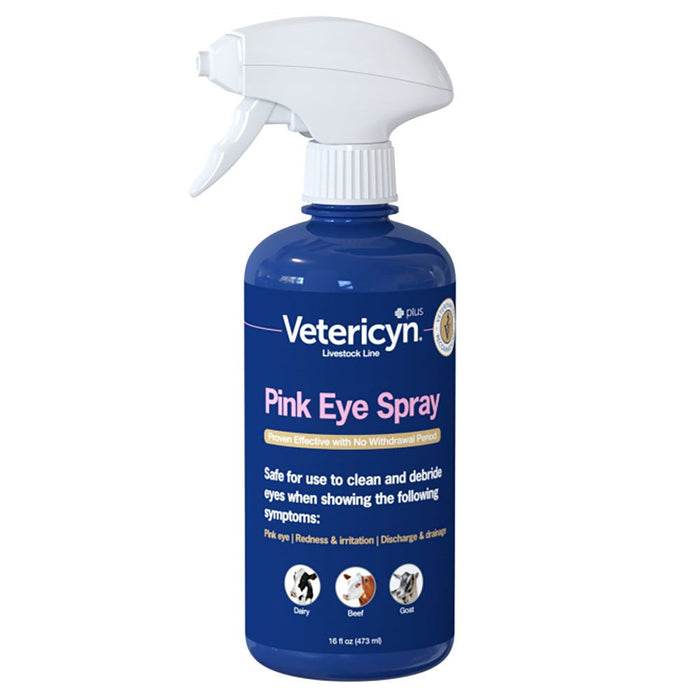 Vetericyn Plus All Animal Pink Eye Spray 16oz