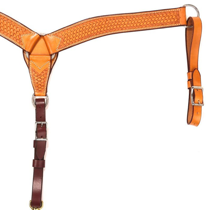 NRS 2 inch Basket Stamped Breast Collar