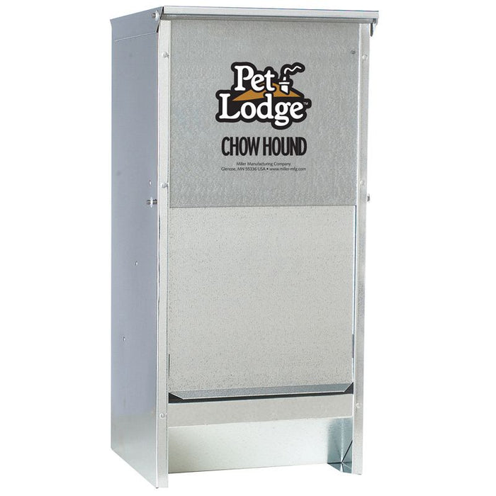 Pet Lodge Chow Hound 12lb Metal Pet Feeder