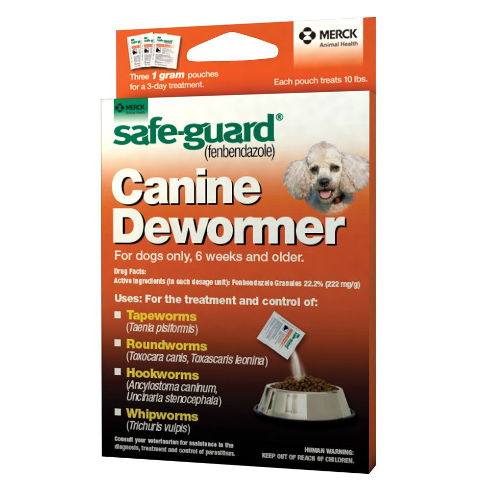 Merck Safe-Guard Canine Dewormer 10 lb.