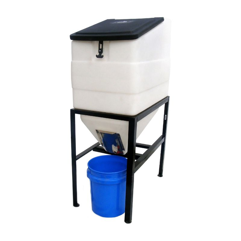 High Country Plastics 270lb Capacity Feed Bin With Stand