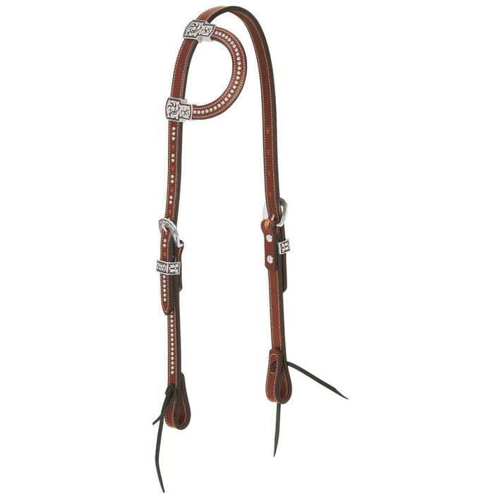 Weaver Leather Austin Collection Sliding Ear Headstall