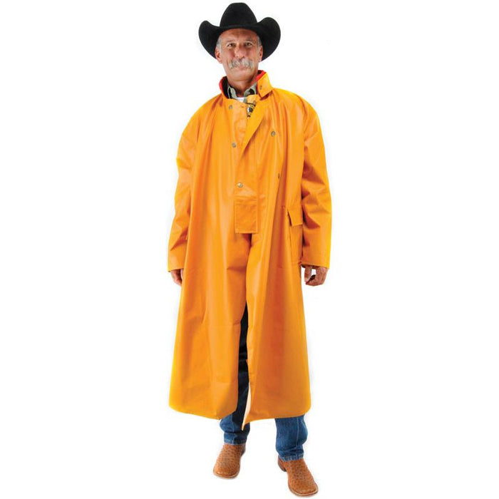 Wyoming Traders Adult Yellow Pommel Fish Style Slicker