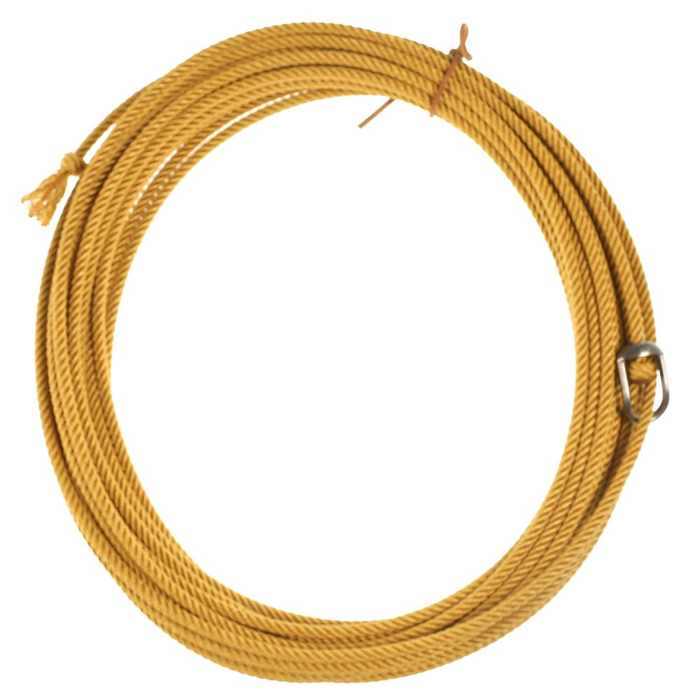 King Ropes Quad Poly Gold 4 Strand Ranch Rope