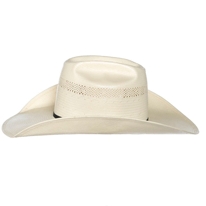 American Hat Co 20 Star Premium Shantung Open Crown Two Cord Black Band 4-1/4in. Cowboy Hat