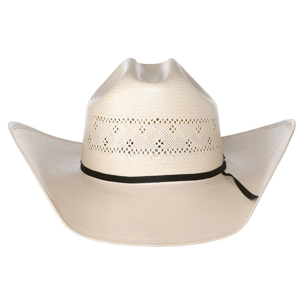 Fancy Vent Ivory Rancher Crease Hat
