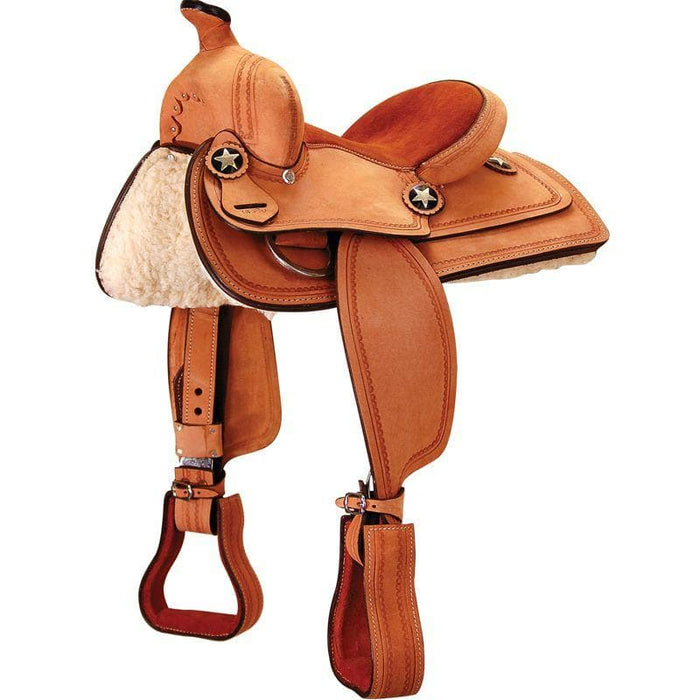 JT International Bob Cat 12 in Youth Pleasure Saddle