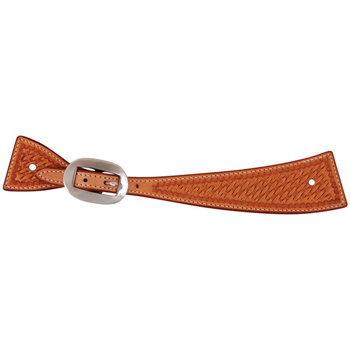 Martin Square Stamped Spur Strap