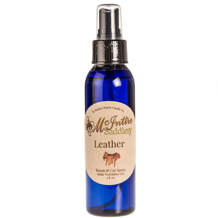 McIntire Saddlery Leather Scent Room Spray