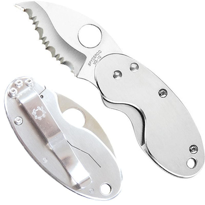 Spyderco Cricket Serrated Edge Knife