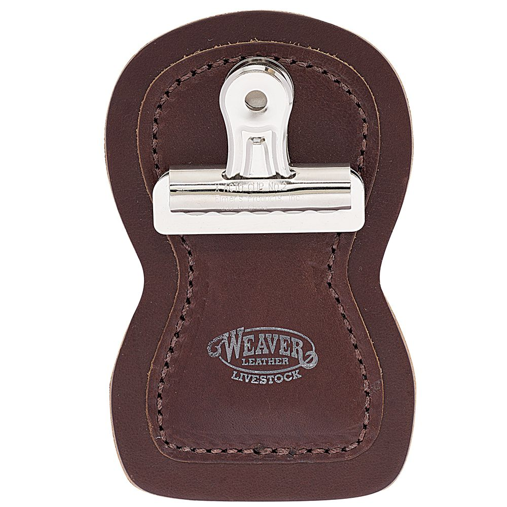 Weaver Leather Brown Show Number Holder