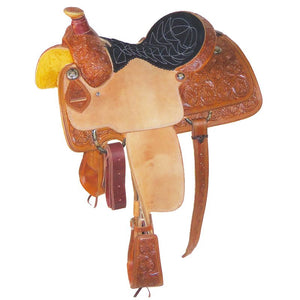 Relentless Tie-Down Roper Saddle