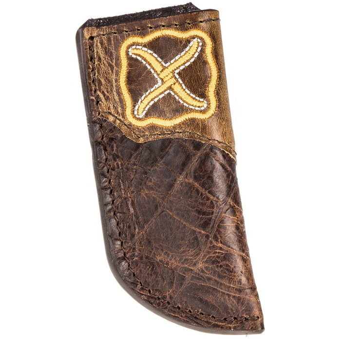 Twisted X Brown Gator Knife Sheath