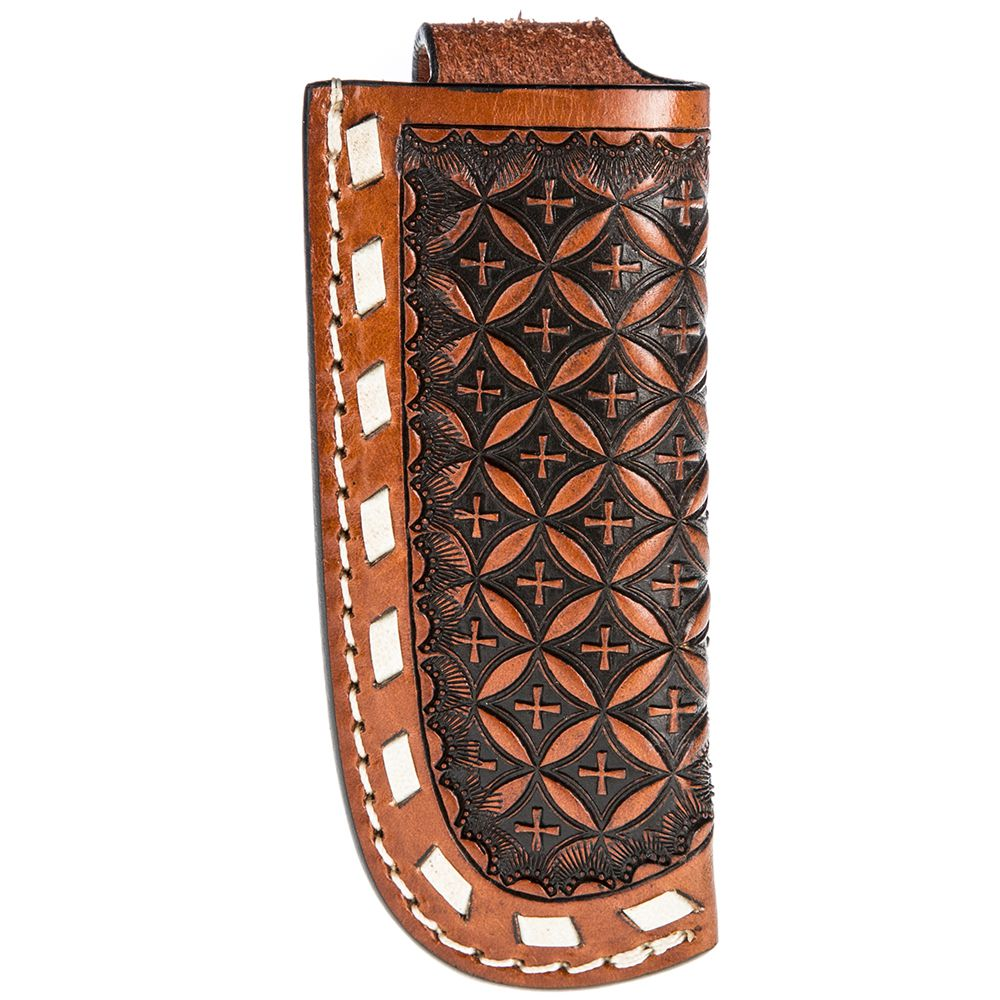 Twisted X Cognac/Snowflake Knife Sheath