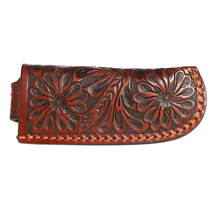 Leather Tooled Knife Sheath