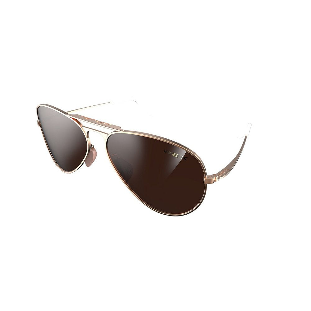 Bex Wesley Rose/Amber Sunglasses