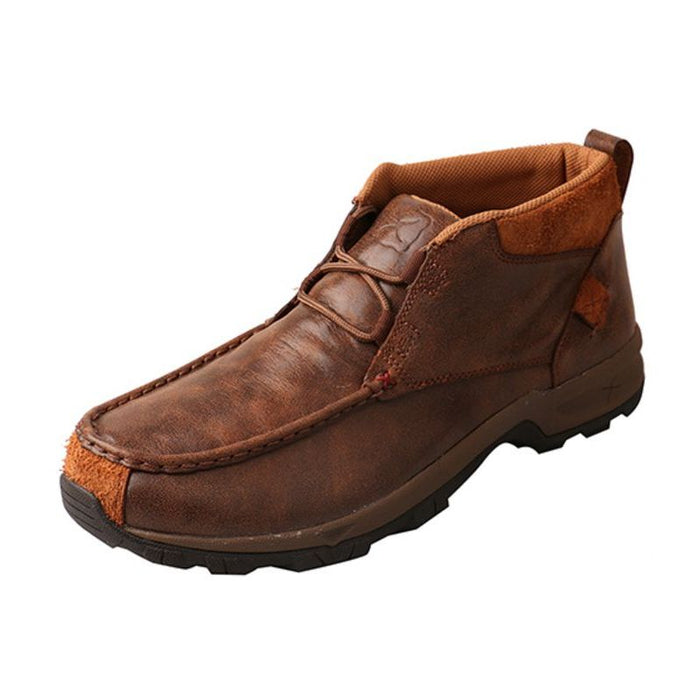 Men's Twisted X Lace-up Waterproof Old Brown Hiker