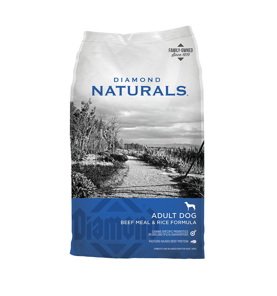 Diamond Natural Beef Rice 40lb