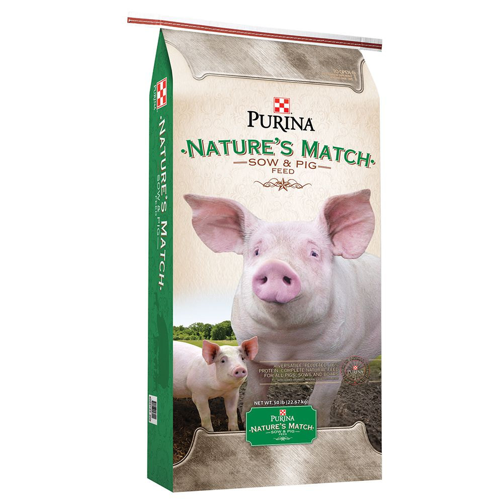 Nature?s Match Sow & Pig Complete Feed