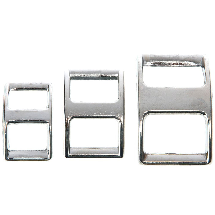 5/8 inch Nickel Plated Conway Buckle