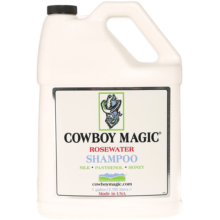 Cowboy Magic Rosewater Shampoo Gallon