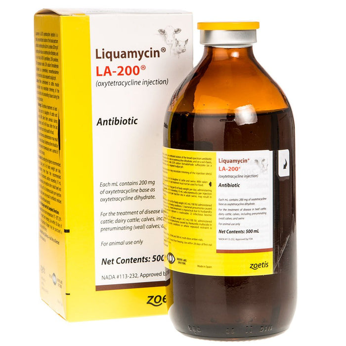 Liquamycin LA-200 Injectable 500mL