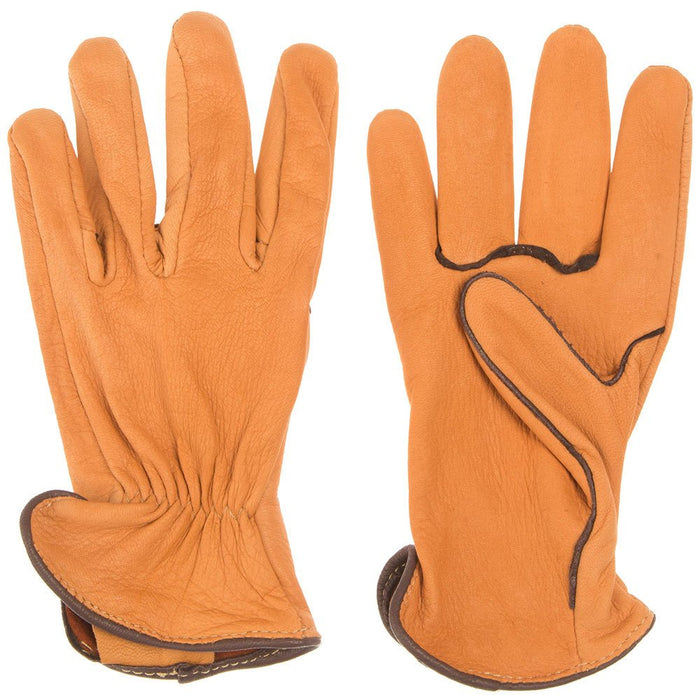 Geier Lined Deerskin Driving Gloves