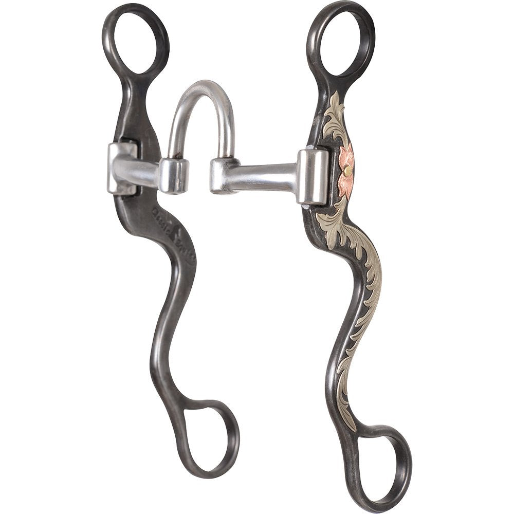 Classic Rope Company 7 1//2 Cheek Ported Twisted Wire Bit