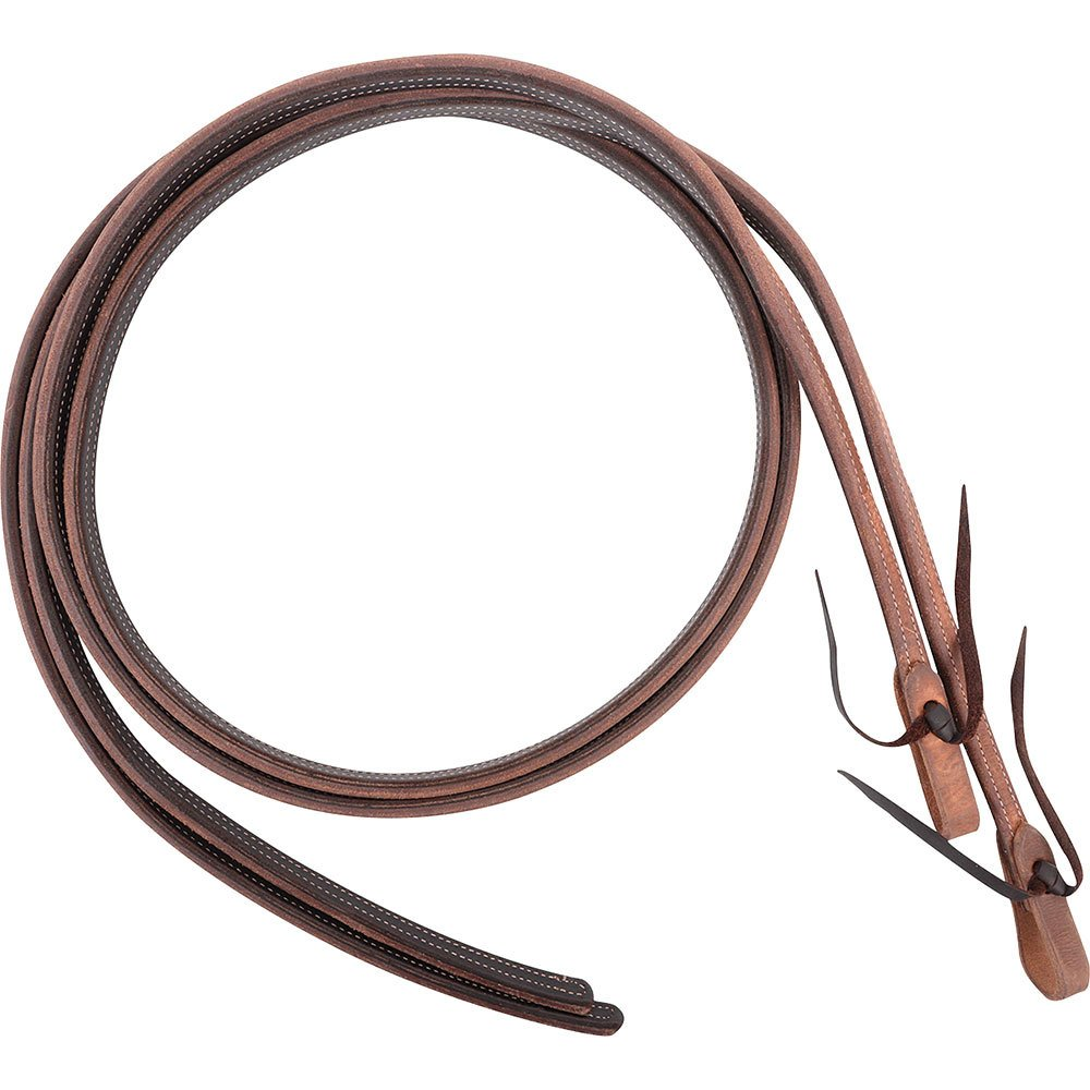 Martin Saddlery Heavy Harness and Latigo, Doubled & Stitched Split Reins