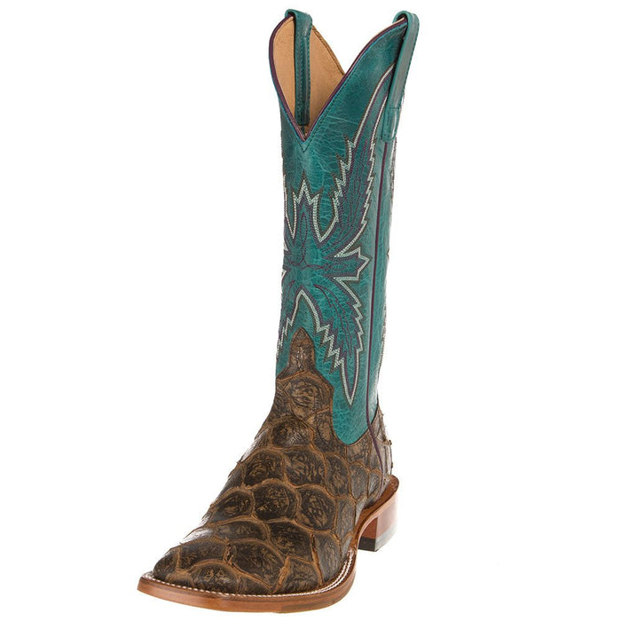 Ladies Macie Bean Coco File Fofish Turquoise Sensation Top Boots