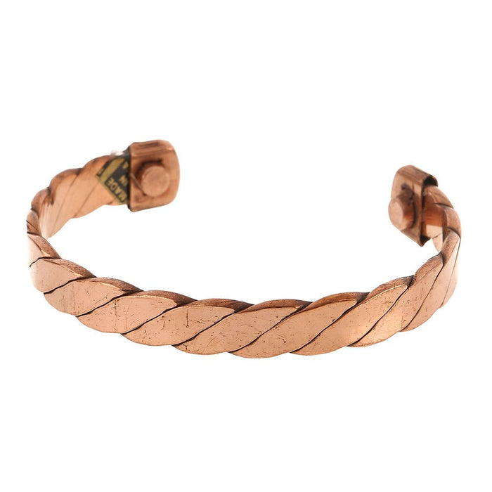 Assorted Copper Bracelets With Magnets