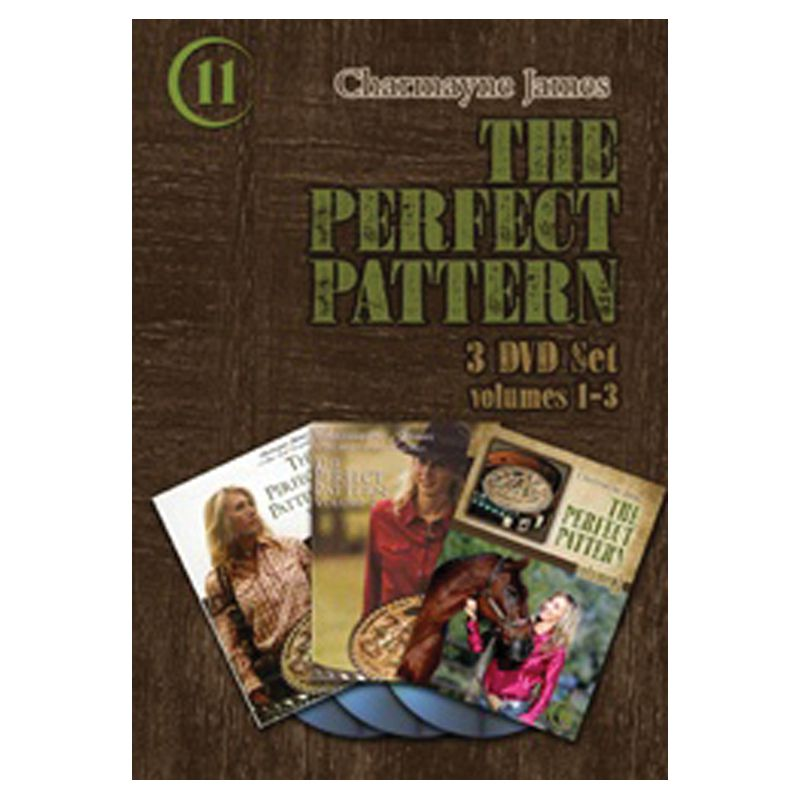 Charmayne James Perfect Pattern Vol. 1-3 DVDs