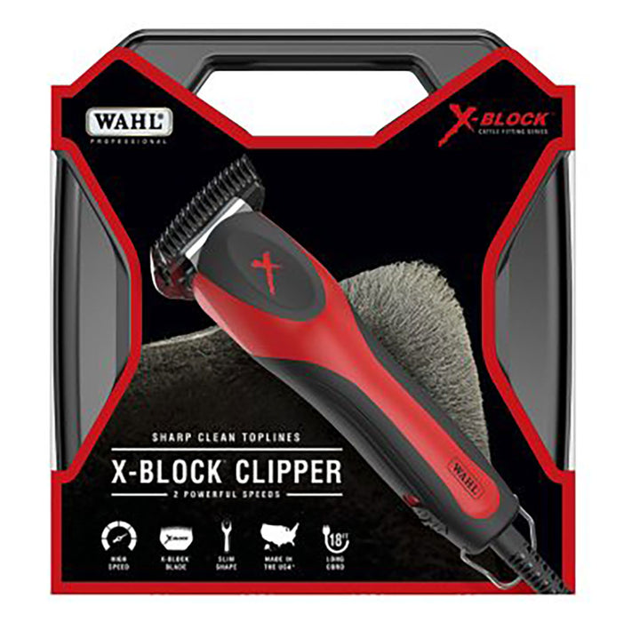 Wahl X-Block Cattle Fitting Clipper