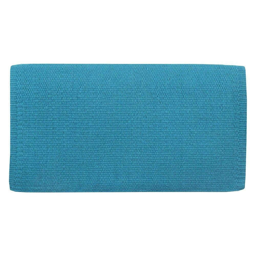 San Juan Solid Soft Turquoise Lightweight Saddle Blanket