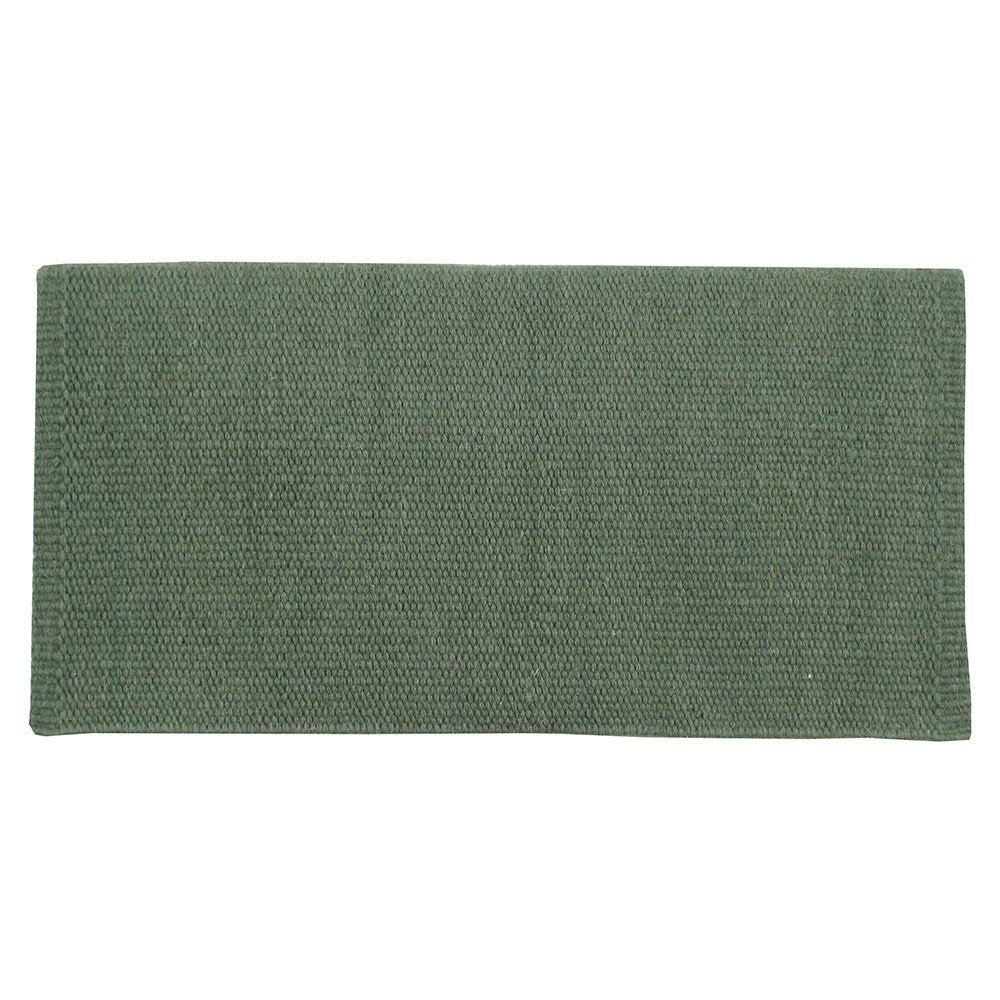 San Juan Solid Sage Lightweight Saddle Blanket