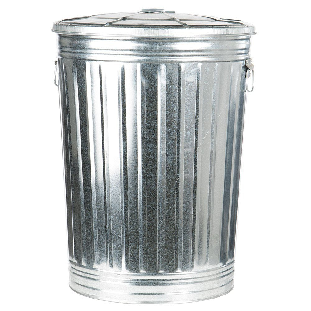 Galvanized Trash Can - 20 gallon