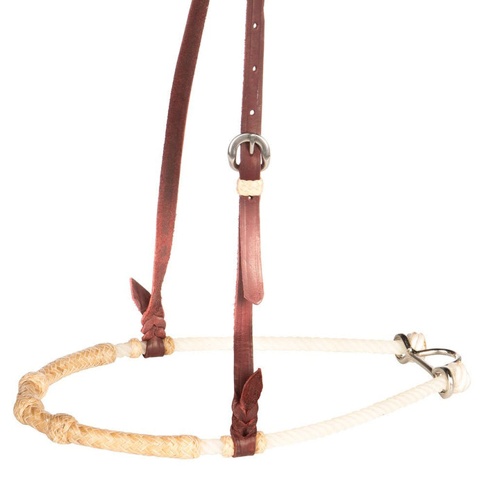 Rawhide Knotted Single Rope Noseband