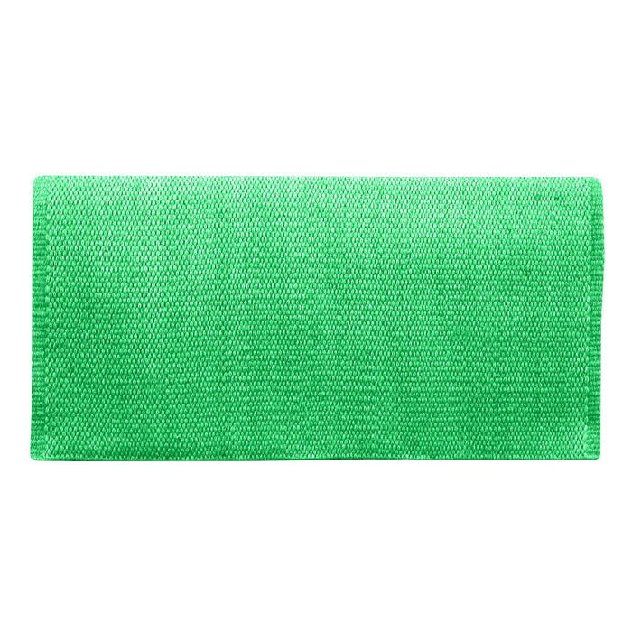 San Juan Solid Kelly Green Lightweight Saddle Blanket