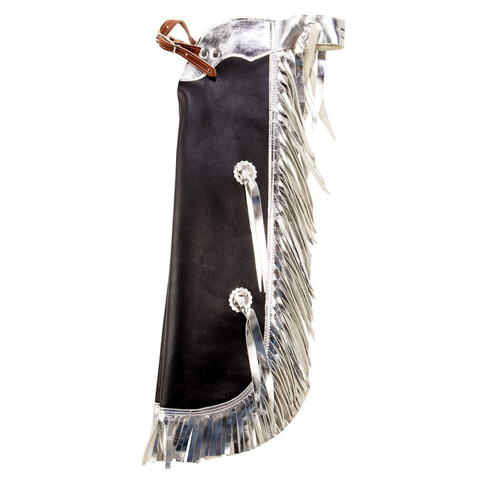 Kids Black and Silver Rodeo Chaps