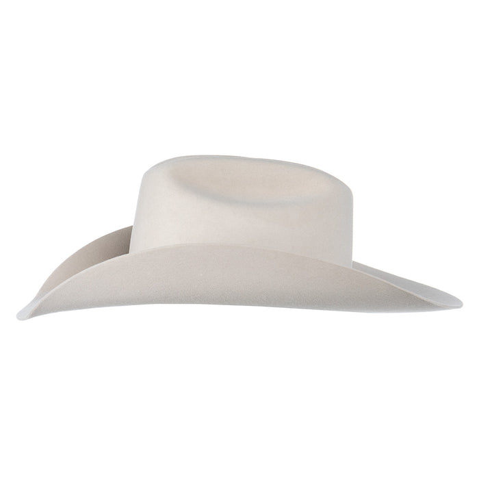 Ariat Bone 10X 4 1/4in. Brim Cattlemans Crease Felt Cowboy Hat