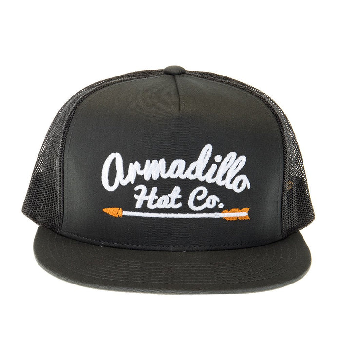Armadillo Hat Co Waylon Black Cap