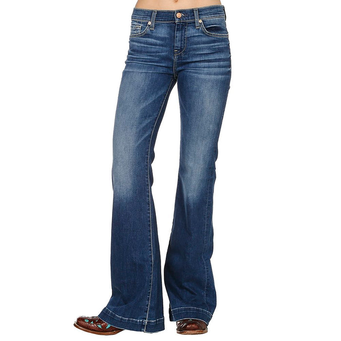 Women's 7 For All Mankind Flare Denim Jean