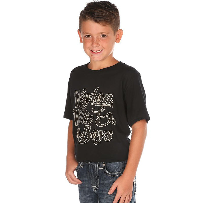 Boy's Ruby's Rubbish Waylon, Willie and the Boys Tee