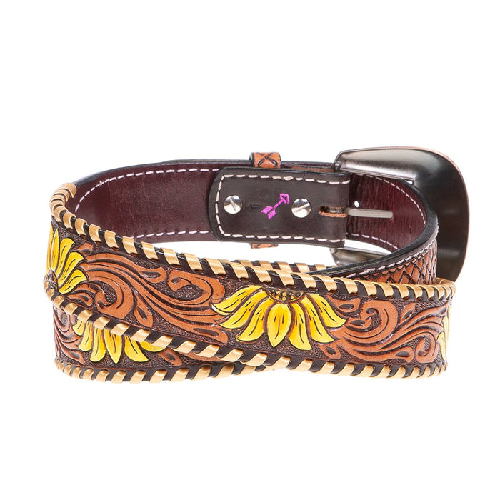 Ladies Rafter T Sunflower Belt