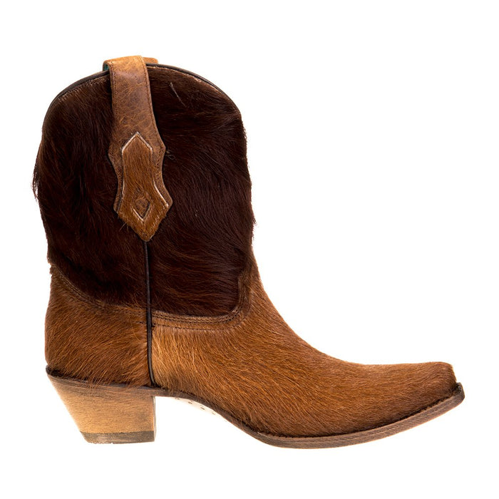 Women's Corral Brown Conchos Ankle Boot