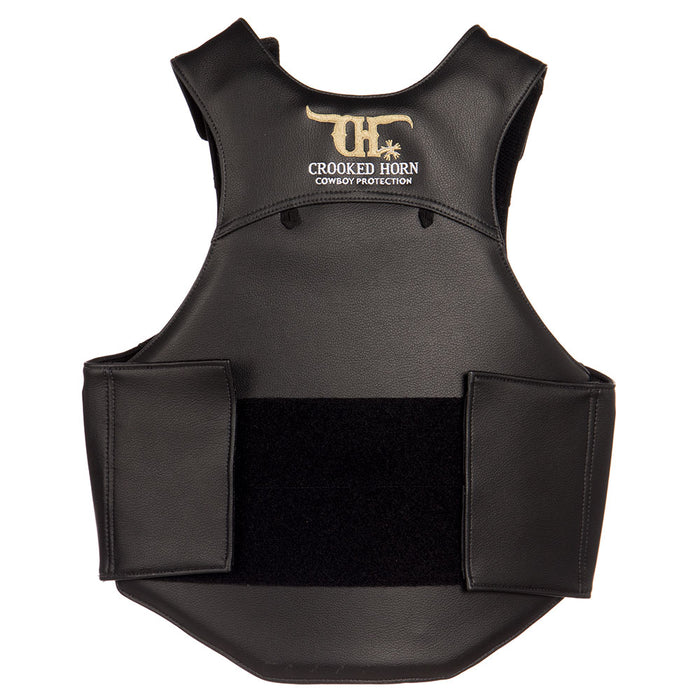 Crooked Horn Bull Rider Pleather Vest