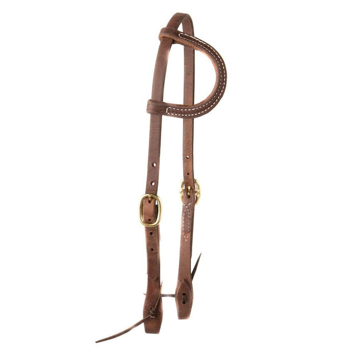 NRS by Dutton Angled Square Port Cavalry Bit Bridle Set