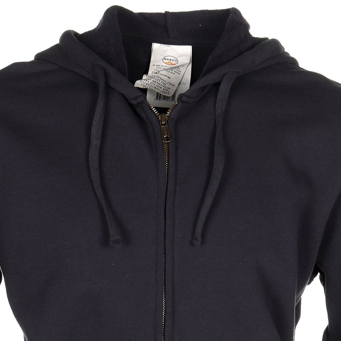 Men's Rasco Navy FR Full Zip Hoodie