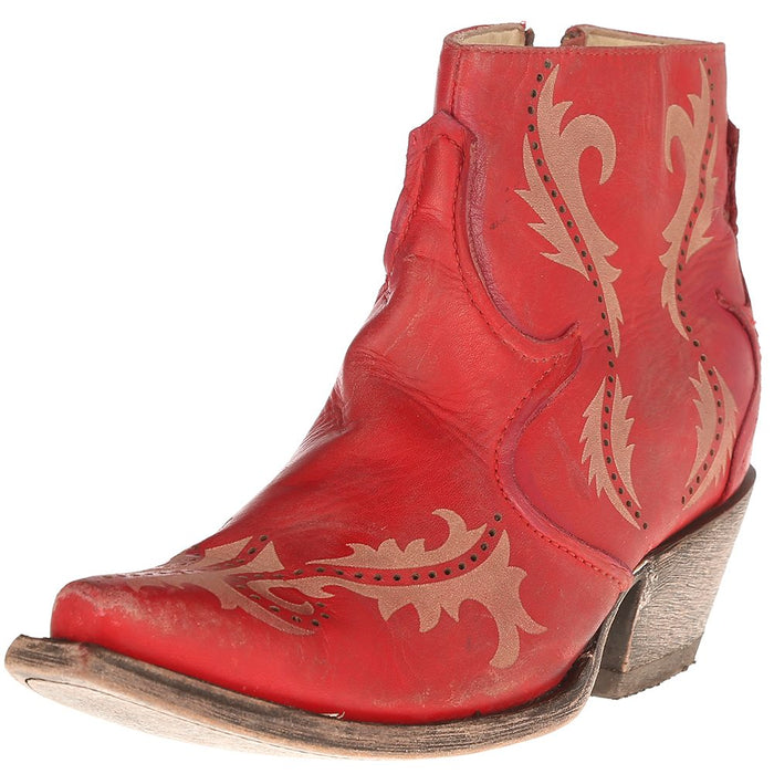 Women's Corral Red Laser Ankle Boot