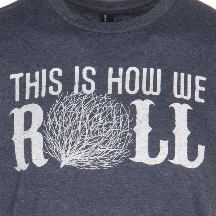 How We Roll Navy T-Shirt